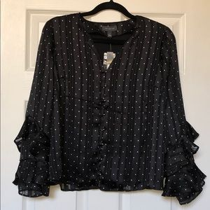 Black Blouse from Limited